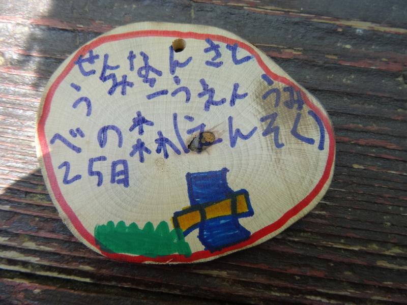 多奈川小学校1・2年生遠足サポート   in  うみべの森_c0108460_16554157.jpg