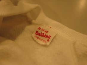 """VINTAGE SWEAT COLLECTION ー60\'S HEALTH KNITー\""ってこんなこと。_c0140560_12133100.jpg"