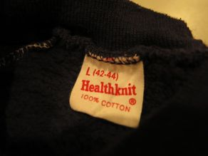 """VINTAGE SWEAT COLLECTION ー60\'S HEALTH KNITー\""ってこんなこと。_c0140560_126123.jpg"