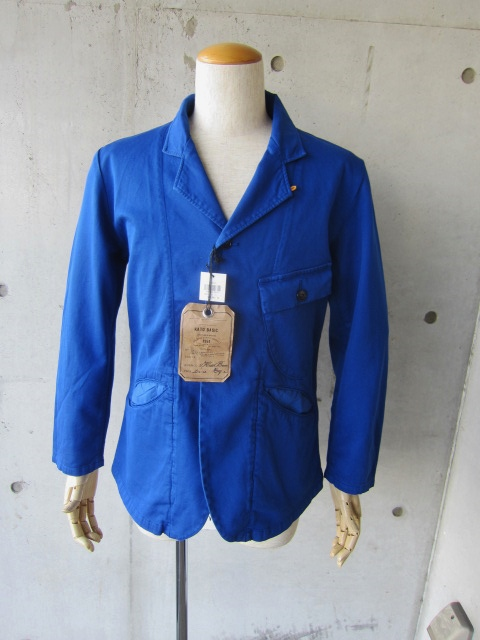 Kato BASIC ・・・ BLUE WORK TAILRORED JKT & 御知らせ。。。_d0152280_15445158.jpg