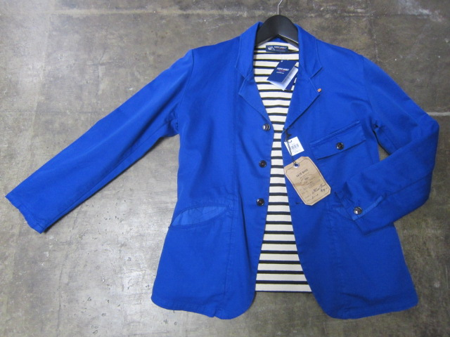 Kato BASIC ・・・ BLUE WORK TAILRORED JKT & 御知らせ。。。_d0152280_22191576.jpg