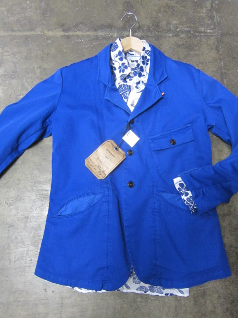 Kato BASIC ・・・ BLUE WORK TAILRORED JKT & 御知らせ。。。_d0152280_22201259.jpg