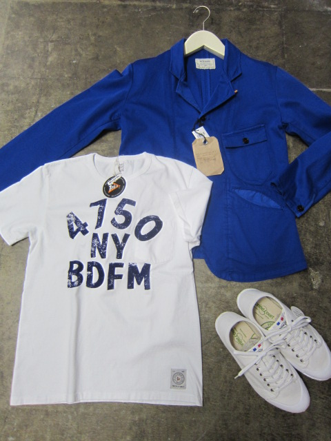 Kato BASIC ・・・ BLUE WORK TAILRORED JKT & 御知らせ。。。_d0152280_2221429.jpg