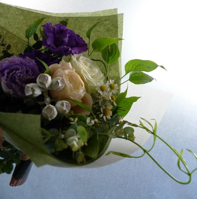 送別用の花束。男性用。_b0171193_18244993.jpg