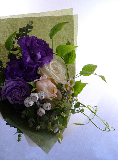 送別用の花束。男性用。_b0171193_18252171.jpg