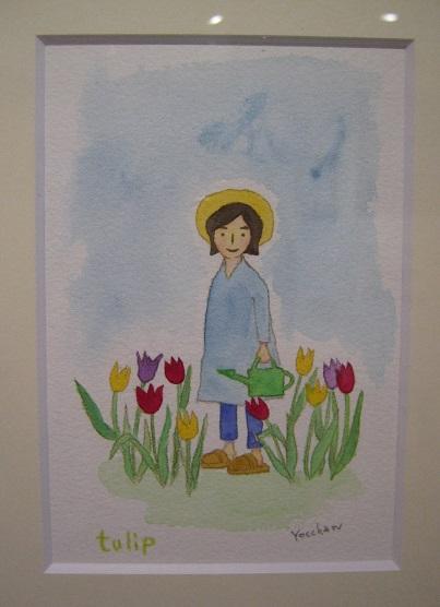 たまごの工房 企画展 「 春の花咲く物語 」展   その9  _e0134502_1342273.jpg
