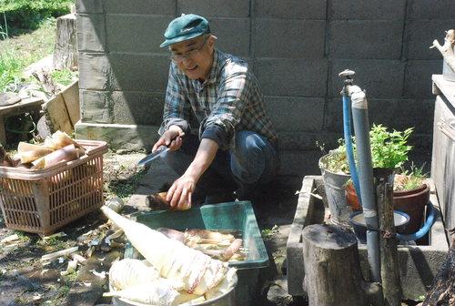 季節と共に生きています。タケノコ堀りに行ってきました_d0174710_21213855.jpg