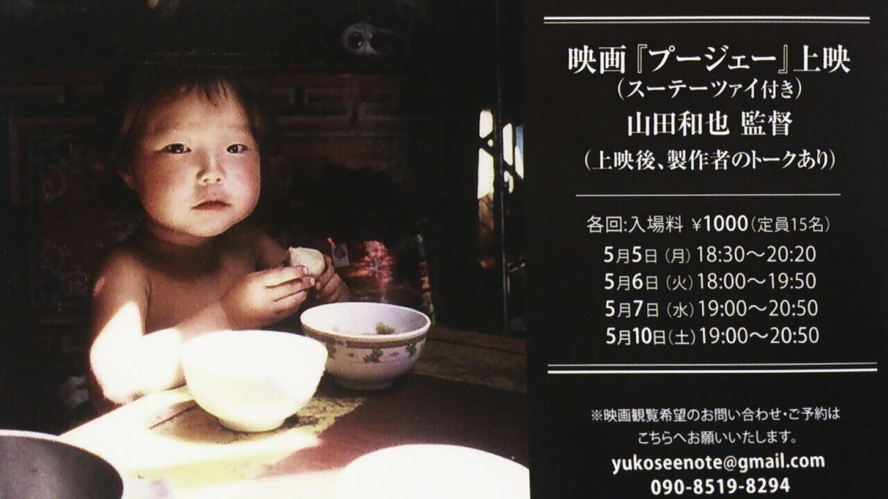 映画「プージェー」上映とモンゴルの白い夏_b0206959_1327129.jpg