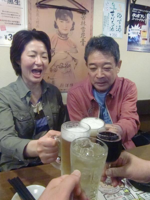 ◆ カメちゃんと大正はしご酒 _f0238779_12425565.jpg