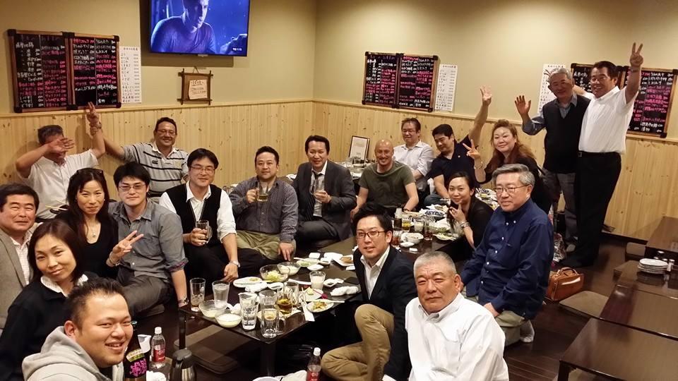松山の最高の仲間と恒例の「うまおい会」に出席。_c0186691_22551183.jpg