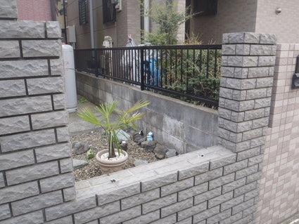 泥棒にご用心 外構フェンス 越谷T様邸_a0229594_1650325.jpg