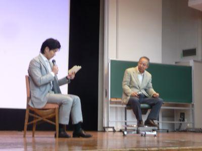 素晴らしかった一日  早稲田大学にて[追記あり]_a0050728_0174755.jpg