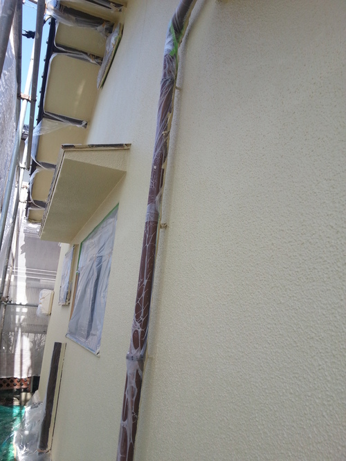 T様邸(佐伯区)外壁塗装および波板張替工事_d0125228_10551285.jpg