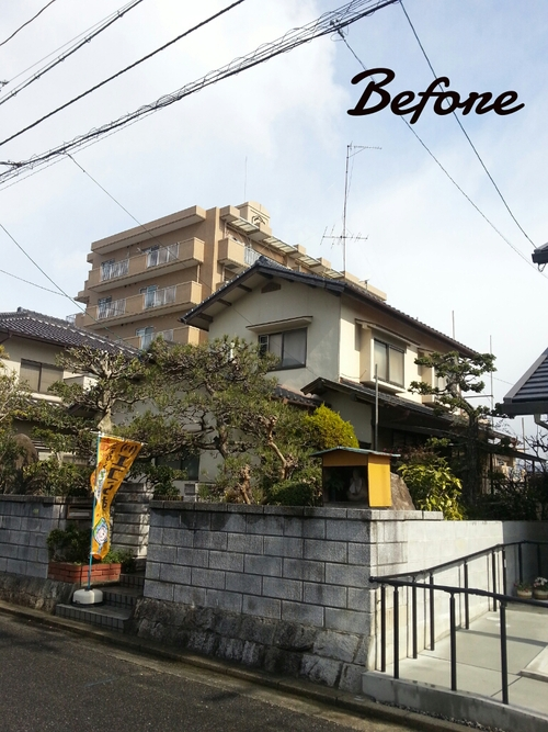 T様邸(佐伯区)外壁塗装および波板張替工事_d0125228_10575519.jpg