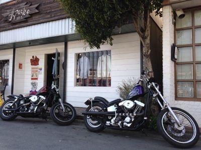 本日のバイク‼_f0194657_1418437.jpg