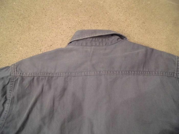 ヴィンテージ ショートスリーブマチ付き ワークシャツ_e0187362_11193381.jpg