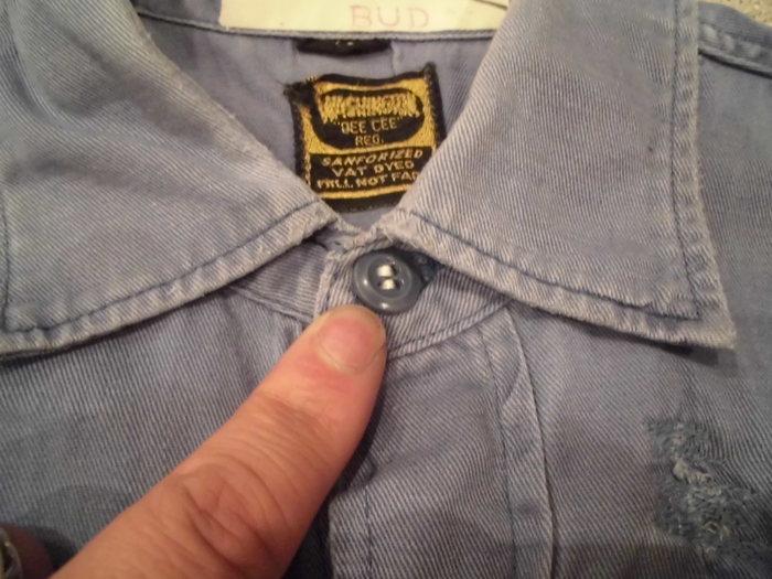 ヴィンテージ ショートスリーブマチ付き ワークシャツ_e0187362_112257.jpg