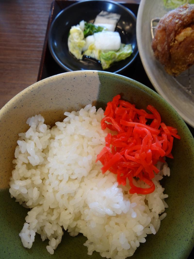 富里は七栄の交差点近くにある鶏唐揚げ専門店、390円から楽しめます。_c0225997_236142.jpg