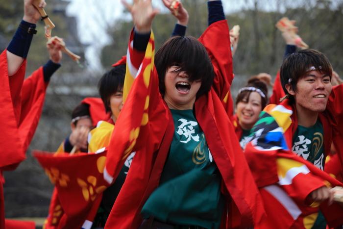長崎大学「突風」 本番前の練習_e0135098_1103222.jpg