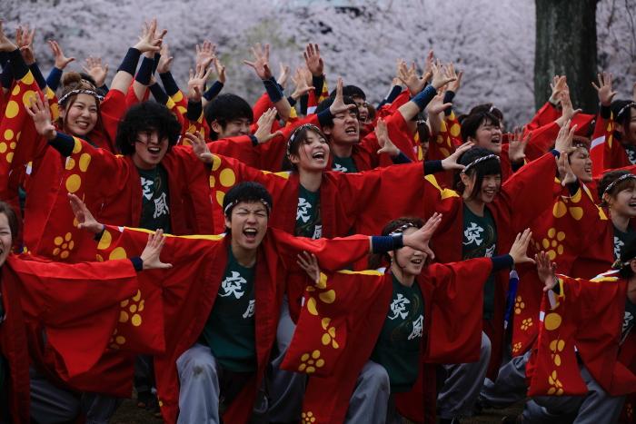 長崎大学「突風」 本番前の練習_e0135098_1104698.jpg