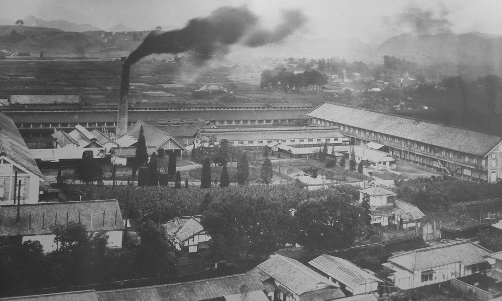 片倉工業と富岡製糸場 : ゆさを...
