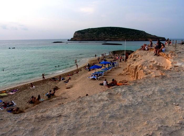 """イビサ島の絶景ビーチ、カラ・コンテ\""""Cala Comte\""""_d0116009_10572629.jpg"""