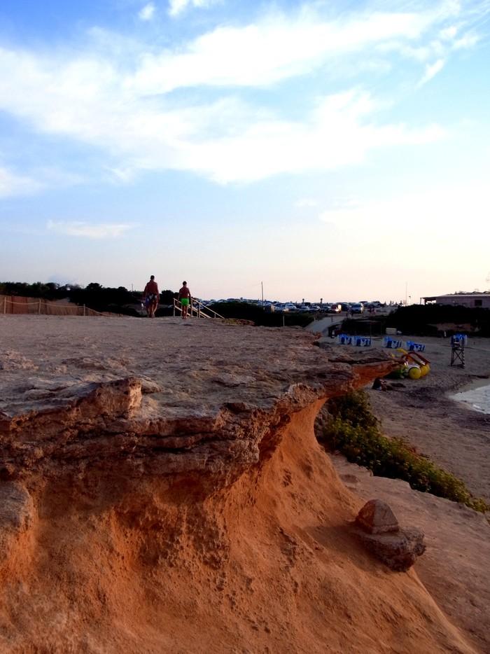 """イビサ島の絶景ビーチ、カラ・コンテ\""""Cala Comte\""""_d0116009_11162111.jpg"""