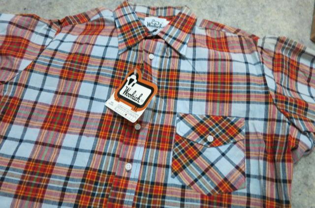 4/29(火)入荷商品!デッドストック 80'S マドラスチェック!WOOLRICHシャツ!_c0144020_18471914.jpg