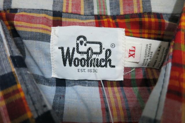 4/29(火)入荷商品!デッドストック 80'S マドラスチェック!WOOLRICHシャツ!_c0144020_1847239.jpg