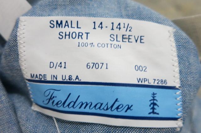 4/29(火)入荷商品!70'S ALL COTTON デッドストックシャンブレーシャツ Sサイズ!_c0144020_19554798.jpg