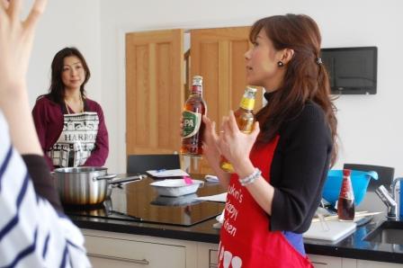 Yukari\'s Happy Kitchenレポ (4月 究極のフィッシュ&チップスを作ろう♪)レポ_d0104926_0583480.jpg