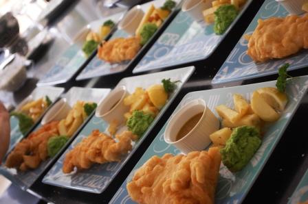Yukari\'s Happy Kitchenレポ (4月 究極のフィッシュ&チップスを作ろう♪)レポ_d0104926_10035.jpg
