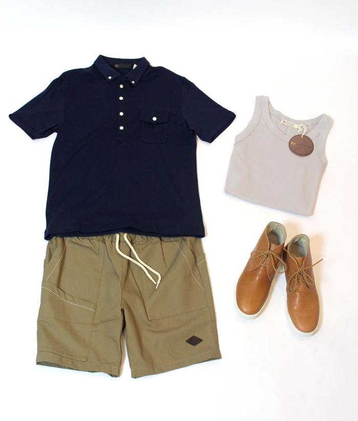 ◆Detail Pocket Shorts _e0142928_744214.jpg
