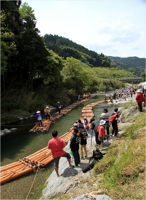 内子町 川登筏流し _a0256349_15585451.jpg