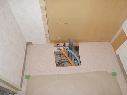 浴室・洗面リフォーム♪ (TOTO WF・オクターブ) 越谷Pマンション N様邸 ③_a0229594_1755255.jpg