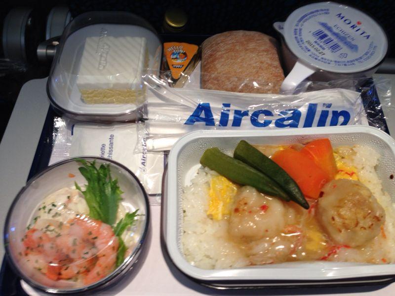 エアカレドニアの機内食_c0100195_1651428.jpg
