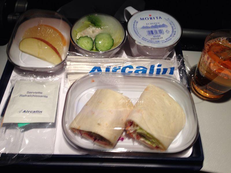 エアカレドニアの機内食_c0100195_16514469.jpg