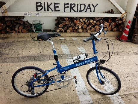 納車 Bike Friday_d0147944_10402339.jpg
