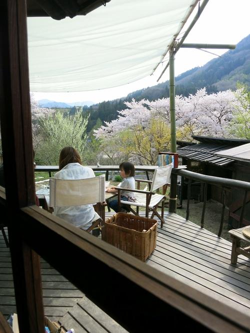 PANI『茶房パニ』でお花見ランチ♪ @上田_f0236260_10192316.jpg