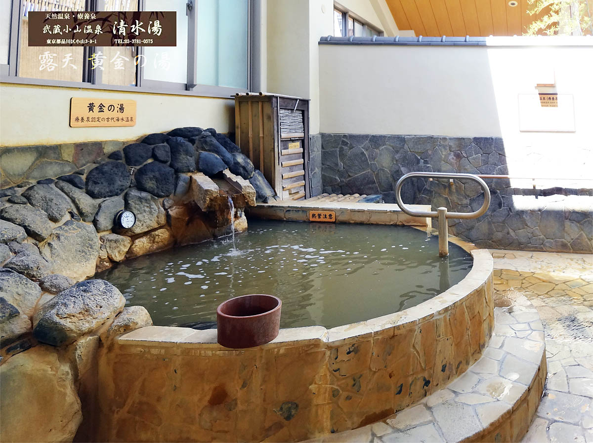 清水湯(武蔵小山温泉銭湯)
