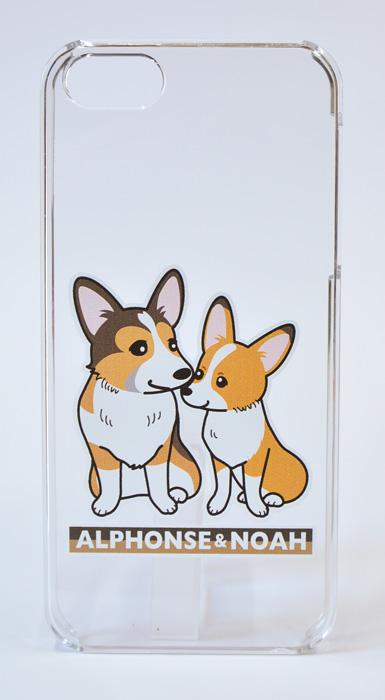 アルくん&のあちゃんiPhone5/5Sケース_d0102523_152040.jpg