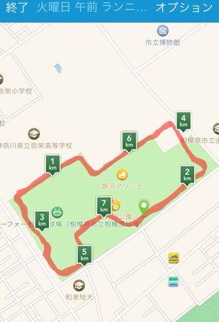 淵野辺公園でランニング♪_b0203925_837497.jpg