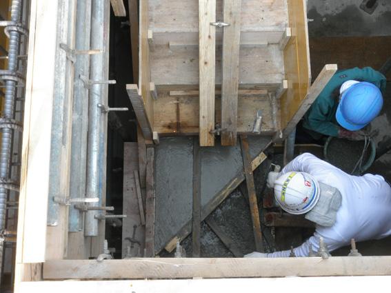 Mビル計画 3階コンクリート打設_a0147436_18574768.jpg