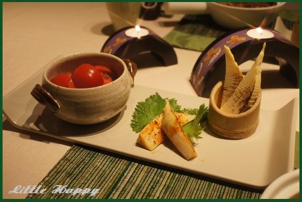 筍の炙りとマーボー豆腐_d0269651_10472467.jpg