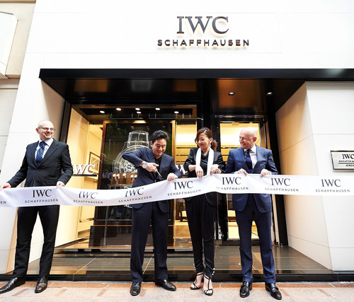 IWC シャフハウゼンが日本初のブティックをオープン_f0039351_19142188.jpg