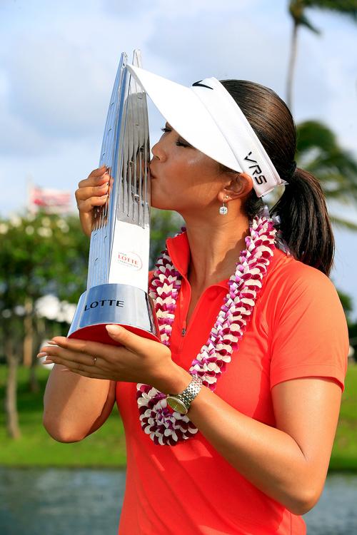 ゴルフ:オメガのアンバサダー、ミッシェル・ウィーがLPGAツアーで優勝_f0039351_223231.jpg