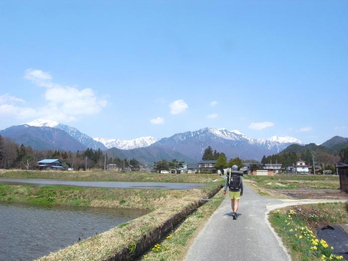 2014.4.26-4.28 塩の道トレイル day2 〜木崎湖-穂高かじかの里~_b0219778_16185.jpg