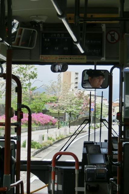 阪急電車「西宮北口」は花々がいっぱい、宝塚歌劇100周年ラッピング電車で春爛漫、阪急沿線は楽しい_d0181492_20335768.jpg