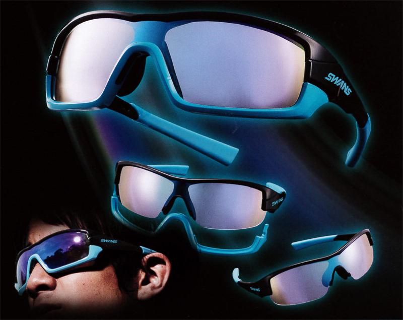 1つのフレームで2つのスタイルを楽しめる日本製スポーツグラスSWANSニューモデルSTRIX・Iリリース!_c0003493_9525169.jpg