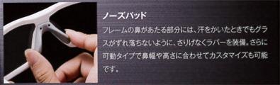 1つのフレームで2つのスタイルを楽しめる日本製スポーツグラスSWANSニューモデルSTRIX・Iリリース!_c0003493_9542241.jpg